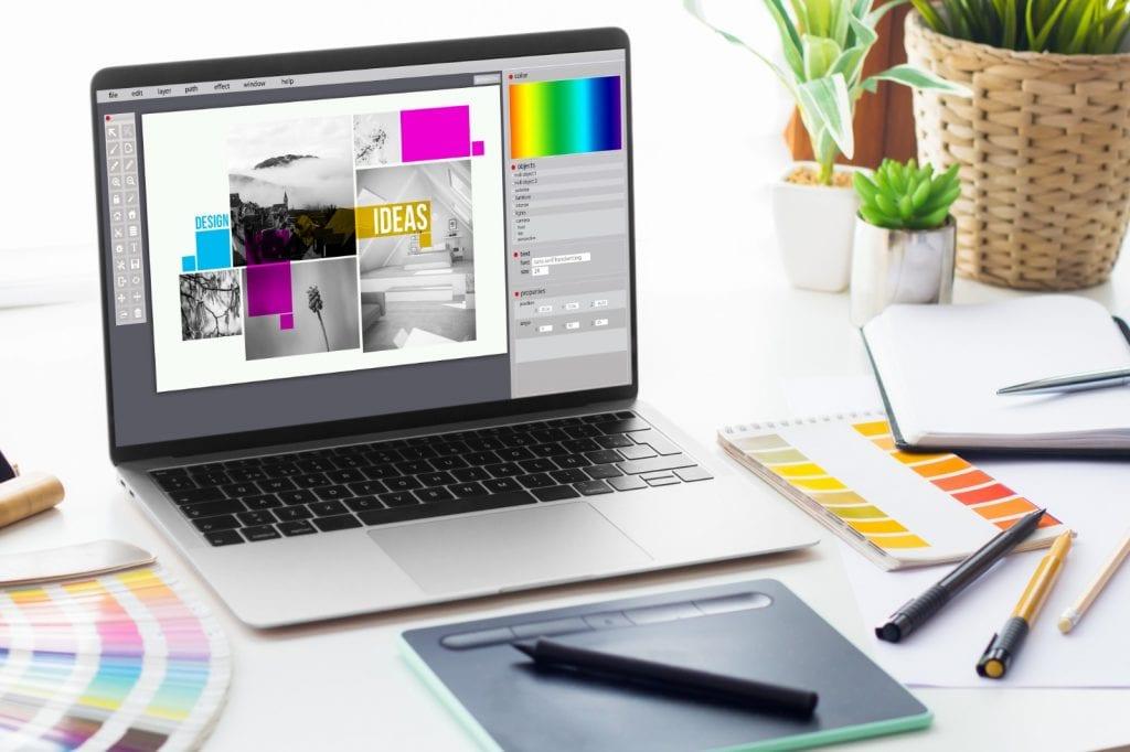 Renk seçimi kurumsal kimlik tasarımında oldukça önemlidir.